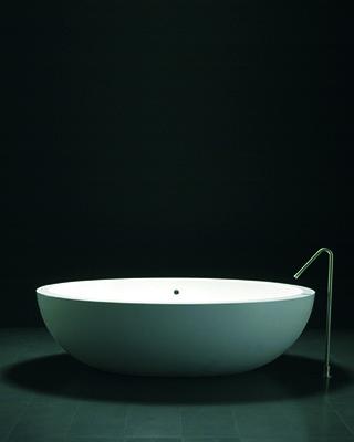 Superficie solida solid surface bañera hosteleria corian lg hi-macs staron krion avonite glacier white diseño Trecoam