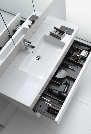 Organizacion baño orden diseño clasificacion limpieza Trecoam